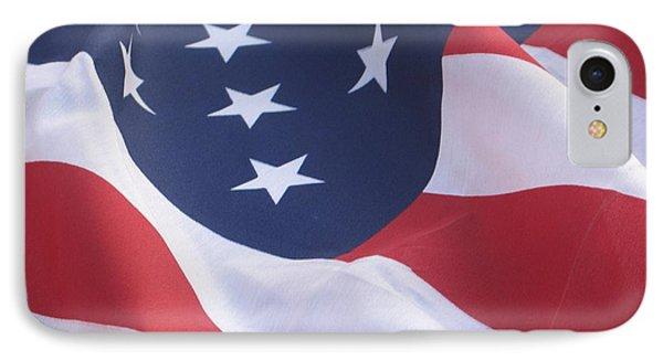 United States Flag  IPhone Case by Chrisann Ellis