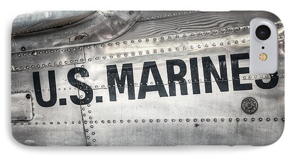 IPhone Case featuring the photograph United States Marines - Beech C-45h Expeditor by Gary Heller