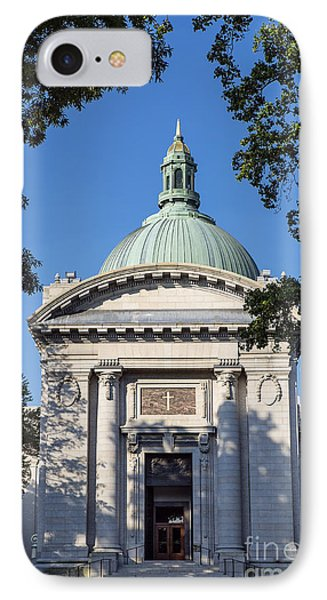 United States Naval Academy Chapel Phone Case by John Greim