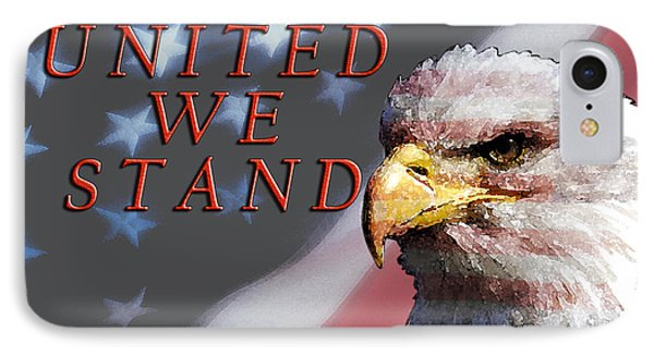 United We Stand Phone Case by Lawrence Costales