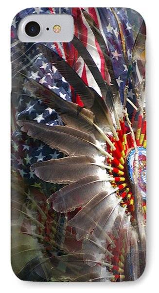 United We Stand IPhone Case by Randy Pollard