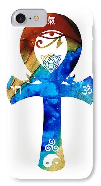 Unity 15 - Spiritual Artwork Phone Case by Sharon Cummings