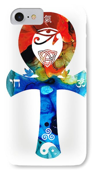 Unity 16 - Spiritual Artwork Phone Case by Sharon Cummings