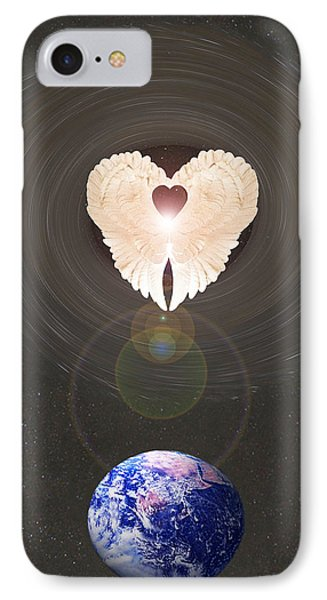 IPhone Case featuring the photograph Universal Angel by Eric Kempson