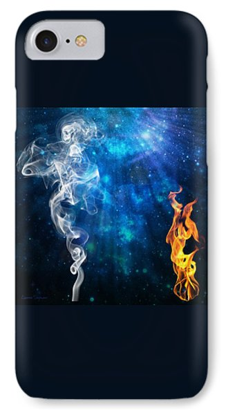 Universal Energies At War IPhone Case by Leanne Seymour