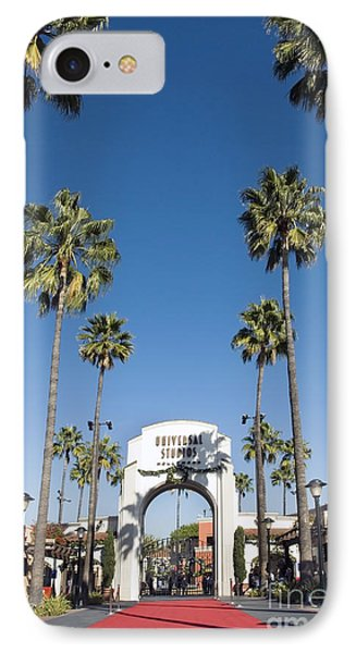 Universal Studios Red Carpet IPhone Case by David Zanzinger