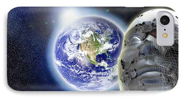 Alone In The Universe IPhone 7 Case by Stefano Senise