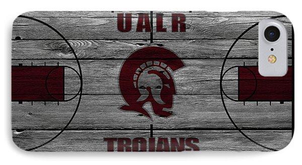 University Of Arkansas At Little Rock Trojans IPhone Case by Joe Hamilton