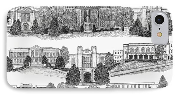 University Of Arkansas Fayetteville IPhone 7 Case
