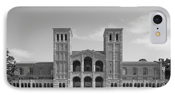 University Of California Los Angeles Royce Hall Phone Case by University Icons