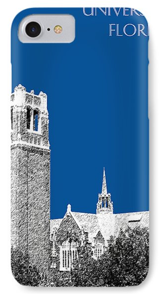 University Of Florida - Royal Blue IPhone Case by DB Artist