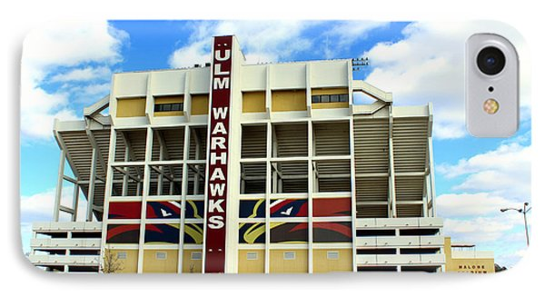 University Of Louisiana At Monroe Malone Stadium IPhone Case
