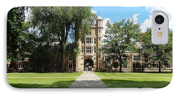 University Of Michigan Law Quad IPhone Case