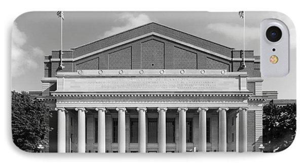 University Of Minnesota Northrop Auditorium IPhone Case by University Icons
