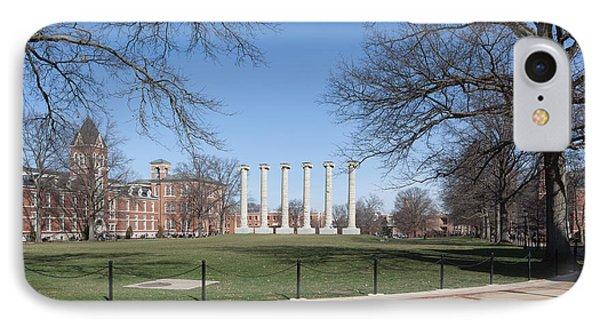 University Of Missouri Quad Phone Case by Kay Pickens