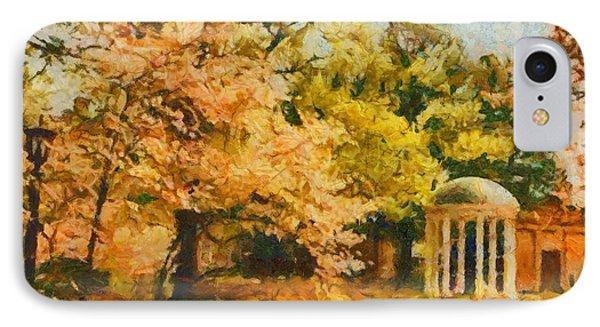 University Of North Carolina  IPhone Case by Elizabeth Coats