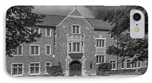 University Of Notre Dame Coleman- Morse Center Phone Case by University Icons