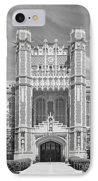 University Of Oklahoma Bizzell Memorial Library  IPhone Case by University Icons