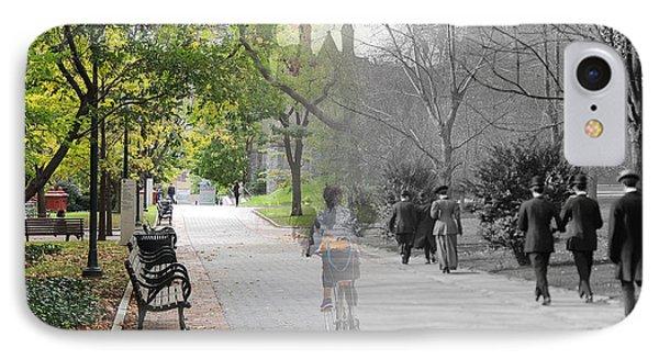 University Of Pennsylvania Walk IPhone Case