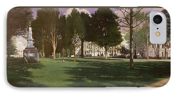 University Of South Carolina Horseshoe 1984 IPhone Case by Blue Sky