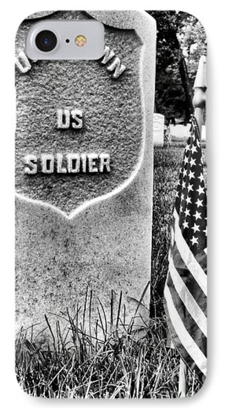 Unknown Soldier IPhone Case by JC Findley
