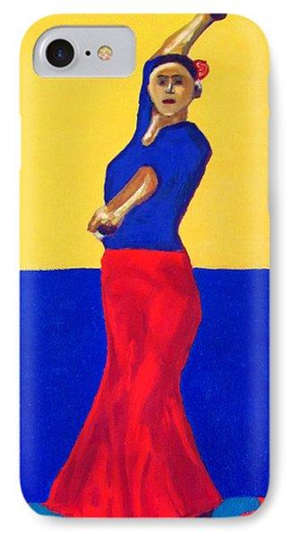 Unnamed Flamenco Dancer Phone Case by Greg Mason Burns