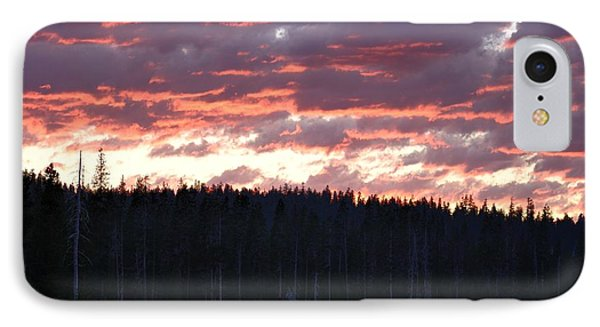 Unnamed Sunset I Phone Case by Rich Rauenzahn