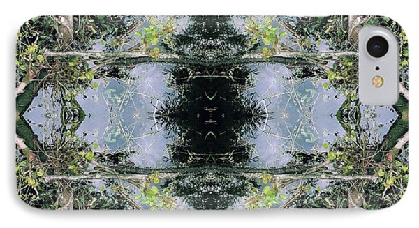 Unnatural 73 IPhone Case by Giovanni Cafagna