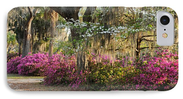 IPhone Case featuring the photograph Unpaved Road In Spring by Bradford Martin