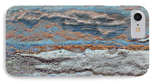 Untamed Sea 1 Phone Case by Carol Cavalaris