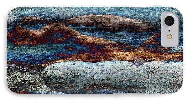 Untamed Sea 2 Phone Case by Carol Cavalaris