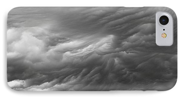 Untamed Textures Of The Sky IPhone Case