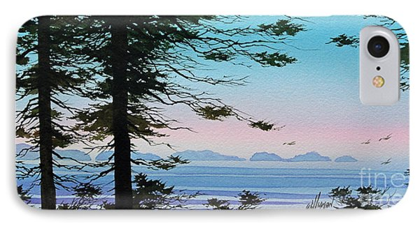 Until I Saw The Shore IPhone Case by James Williamson