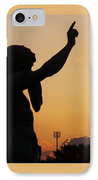 Cemetery Sunset IPhone Case
