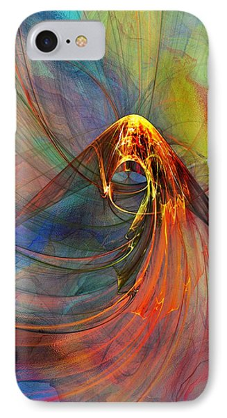 IPhone Case featuring the digital art Untitled 061214  by David Lane