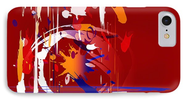 IPhone Case featuring the digital art Untitled 35 by Andrew Penman