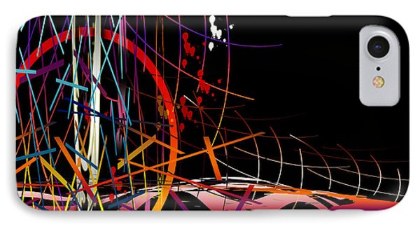 IPhone Case featuring the digital art Untitled 58 by Andrew Penman