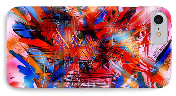 IPhone Case featuring the digital art Untitled 67 by Andrew Penman