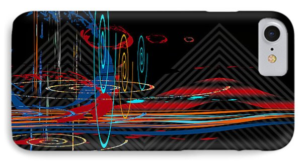 IPhone Case featuring the digital art Untitled 76 by Andrew Penman