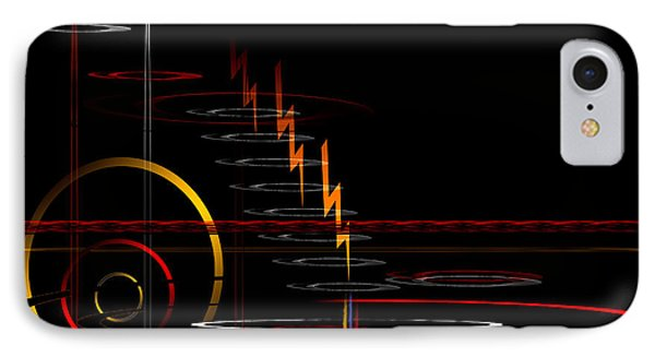 IPhone Case featuring the digital art Untitled 84 by Andrew Penman