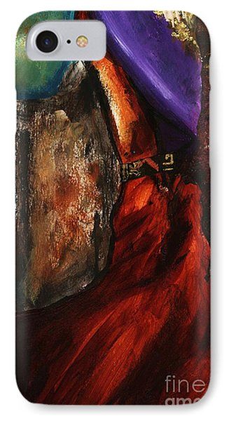 Untitled Abstrak  IPhone Case by Alga Washington