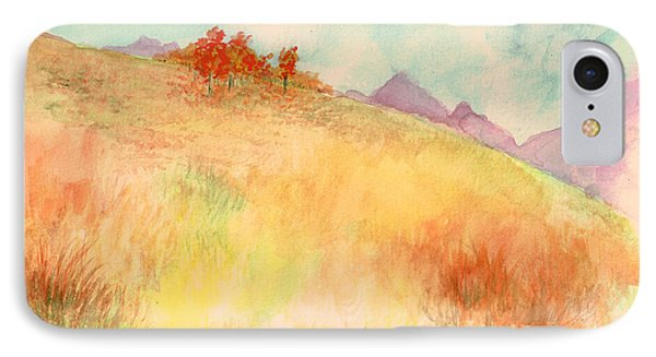 Untitled Autumn Piece IPhone Case by Andrew Gillette