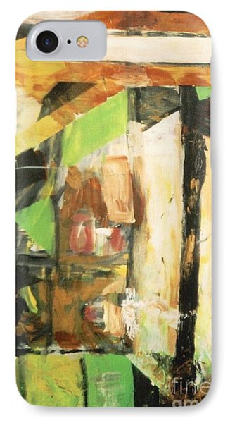 Untitled Composition IIi IPhone Case by Fereshteh Stoecklein