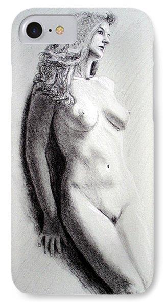 Untitled Nude IPhone Case by Joseph Ogle