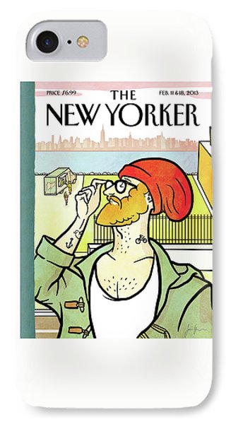 New Yorker February 11th, 2013 IPhone Case