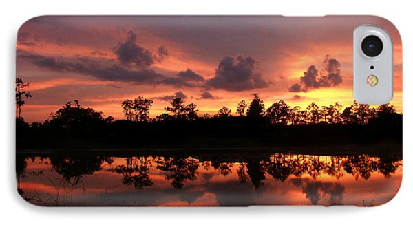 IPhone Case featuring the photograph Untitled Sunset #37 by Bill Lucas
