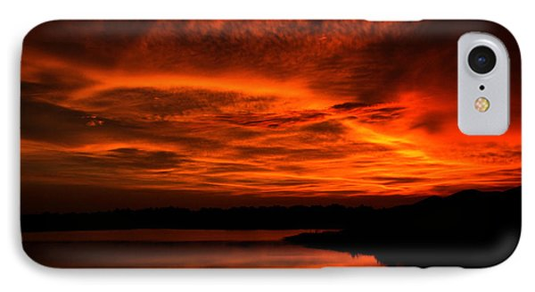 IPhone Case featuring the photograph Untitled Sunset #38 by Bill Lucas