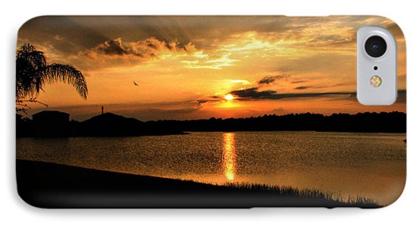 IPhone Case featuring the photograph Untitled Sunset #41 by Bill Lucas