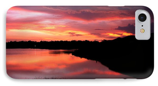 IPhone Case featuring the photograph Untitled Sunset #45 by Bill Lucas