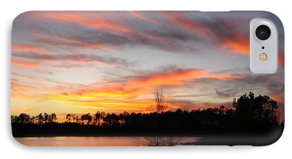 IPhone Case featuring the photograph Untitled Sunset #47 by Bill Lucas